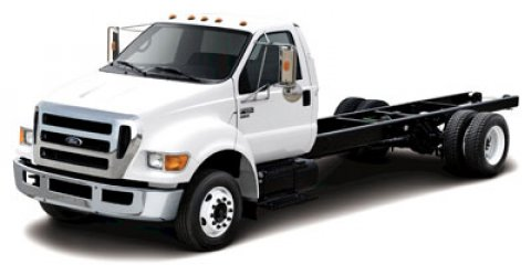 2013 Ford Super Duty F-650 Straight Frame Gas Bold YellowDR-AIR SUSP INT PUMP VINYL -RC STEEL GRAY