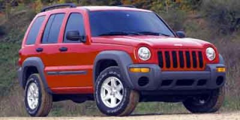 2002 Jeep Liberty Sport 0 V6 37L  0 miles  Rear Wheel Drive  Tires - Front All-Season  Tires