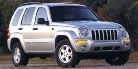 2002 Jeep Liberty Limited Blue V6 37L Automatic 79525 miles  Rear Wheel Drive  Tires - Front