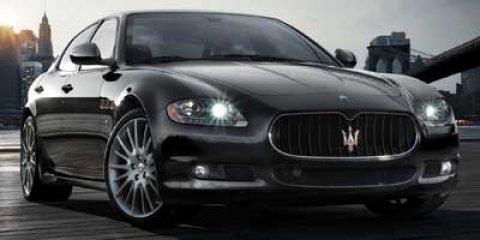 2008 Maserati Quattroporte Executive GT BlackSaddle V8 42L Automatic 64771 miles  LockingLimi