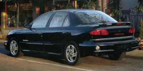 2001 Pontiac Sunfire SE  V4 22L  122640 miles  Front Wheel Drive  Tires - Front All-Season