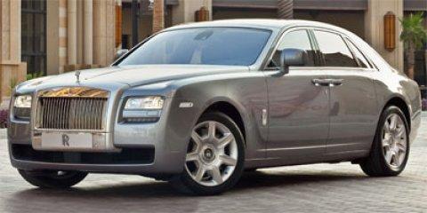 2011 Rolls Royce Ghost Sedan DK SAPPHIRE BLUE V12 66L Automatic 13454 miles  Turbocharged  R