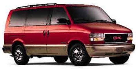 2002 GMC Safari Passenger Red V6 43L Automatic 0 miles  Rear Wheel Drive  Tires - Front All-S