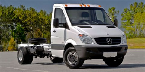 2012 Mercedes Sprinter Chassis-Cabs Arctic WhiteLIMA FABRIC BLA V6 30L Automatic 7 miles For a