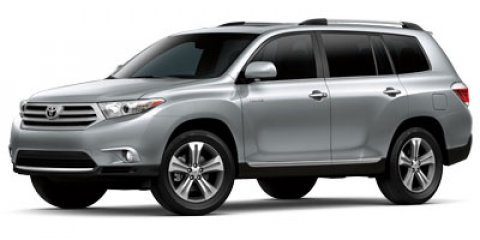 2013 Toyota Highlander Limited WhiteGray V6 35L Automatic 79607 miles  Heated Mirrors  Four