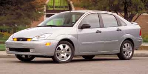 2002 Ford Focus LX Infra-Red Clearcoat V4 20L Manual 99324 miles  14 Wheels wBolt-On Appeara