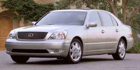 2002 Lexus LS 430 4DR SDN AT Millennium Silver MetallicBordeaux V8 43 Automatic 144851 miles