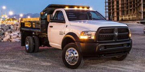 2013 Ram 5500 White V6 67L Automatic 3 miles Comes with Hoblits 2 year free maintenance progr