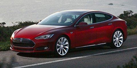 2013 Tesla Model S Performance White PearlBlack V  Automatic 30425 miles  Electric Motor  Rear