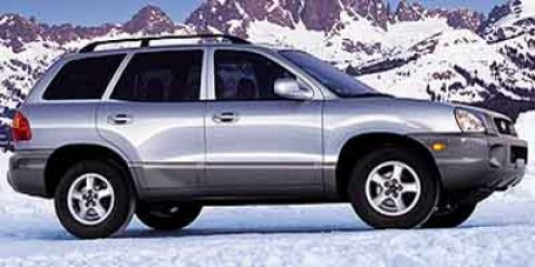 2002 Hyundai Santa Fe GLS PewterGray V6 27L 162 Automatic 148829 miles GUARANTEED FINANCING F