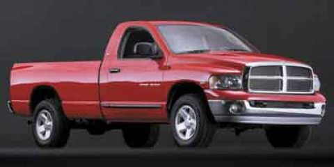 2002 Dodge Ram 1500 REG 1205WB 4X4  V8 47L  189263 miles Next Generation Magnum 47L V8 and 4