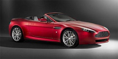 2013 Aston Martin V8 Vantage White V8 47L Automatic 9862 miles Only 9 862 Miles Delivers 21