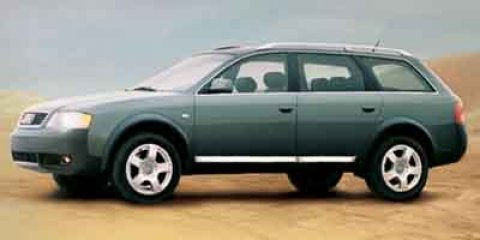 2002 Audi allroad Dark GreenBlack V6 27 Automatic 135610 miles -New Arrival- QUATTRO ALL-WHEE