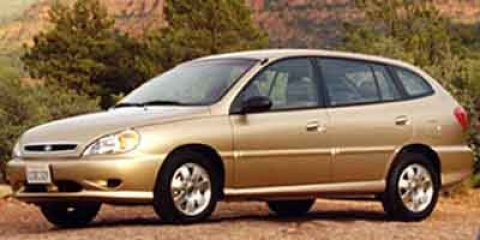 2002 Kia Rio Cinco Tan V4 15L Automatic 125663 miles Kia FEVER Drive this home today Kia has