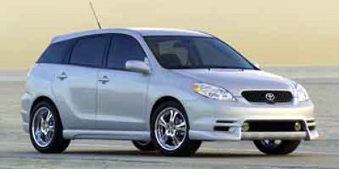 2003 Toyota Matrix XRS Super WhiteDark Gray V4 18L Manual 184352 miles  Front Wheel Drive  Po