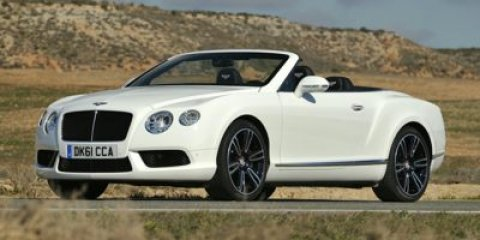 2014 Bentley Continental GTC V8 Convertible  V8 40 Automatic 16 miles  Turbocharged  All Whee