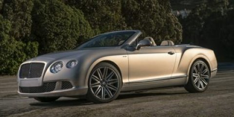 2014 Bentley Continental GT Speed Convertible Onyx MetallicBeluga V12 60 L Automatic 19 miles