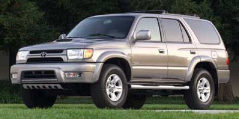 2002 Toyota 4Runner SR5 MOONROOF Thunder CloudGray V6 34L Automatic 167262 miles -New Arrival