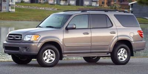 2002 Toyota Sequoia SR5 MOCHA V8 47L Automatic 210139 miles  Traction Control  Four Wheel Dri