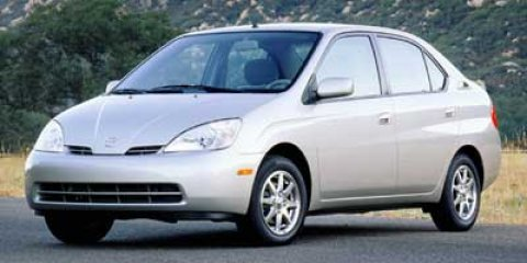 2002 Toyota Prius HYBRID Silver Strata MetallicAmethyst V4 15L Variable 150183 miles REAR SPO