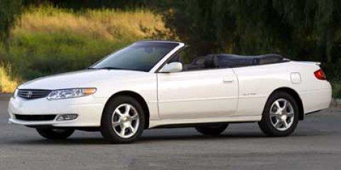2002 Toyota Camry Solara SLE Convertible SilverBlack V6 30L Automatic 72460 miles Schedule yo