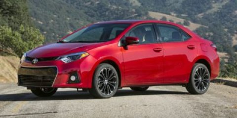 2014 Toyota Corolla S Plus Barcelona Red MetallicBlack V4 18 L Manual 0 miles  CARPETED FLOOR