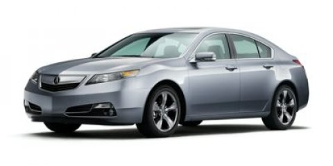 2014 Acura TL Tech Crystal Black Pearl V6 37 L Automatic 14 miles  All Wheel Drive  Power Ste