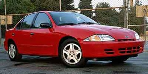 2002 Chevrolet Cavalier LS Graphite V4 22L Automatic 46000 miles GUARANTEED FINANCING FOR EVE