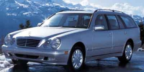 2002 Mercedes E-Class L Desert Silver MetallicIVORY V6 32L Automatic 186608 miles Check out th