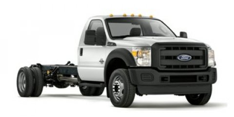 2014 Ford Super Duty F-350 DRW Oxford WhiteSTEEL VINYL V8 67 L Automatic 5 miles  Rear Wheel D