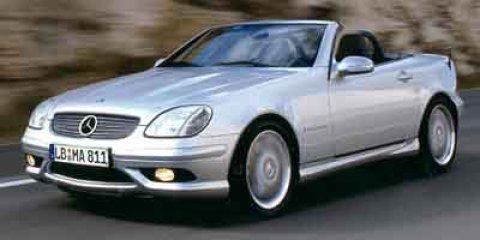 2002 Mercedes SLK-Class 32L AMG Silver V6 32L Automatic 69968 miles Check out this 2002 Merce