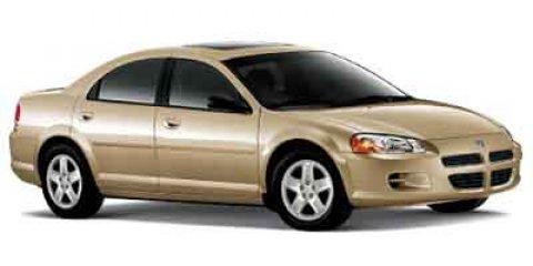 2002 Dodge Stratus SE PLUSSXT Red V4 24L Automatic 109377 miles Only 109 377 Miles Deliver