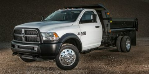 2014 Ram 5500 White V6 67 L Automatic 1 miles  Rear Wheel Drive  Power Steering  ABS  4-Whe
