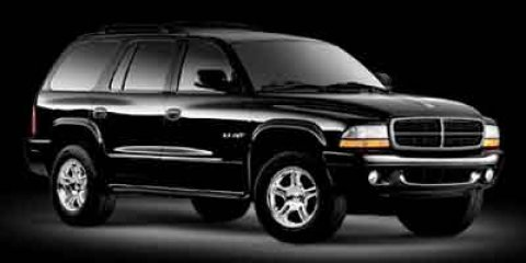 2002 Dodge Durango SLT Dark Garnet Red Pearl V8 47L Automatic 105841 miles  Four Wheel Drive
