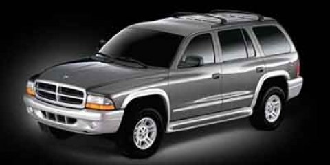 2002 Dodge Durango SLT Plus Bright Silver Metallic V8 47L Automatic 89456 miles Land a score o