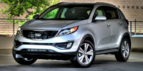 2014 Kia Sportage EX Gray V4 24 L Automatic 9 miles  Front Wheel Drive  Power Steering  ABS
