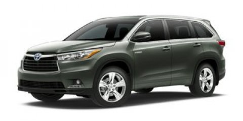 2014 Toyota Highlander Hybrid Limited Silver Sky Metallic V6 35 L Variable 0 miles  All Wheel