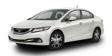 2014 Honda Civic Hybrid HYBLNAV Crystal Black PearlGray V4 15 L Variable 5 miles  CRYSTAL BLAC