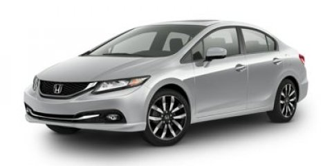 2014 Honda Civic Sedan EX-L with Navi White Orchid PearlBlack V4 18 L Variable 2 miles  Front