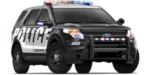 2015 Ford Utility Police Interceptor V Oxford WhiteCharcoal V6 37 L Automatic 0 miles  100 WAT