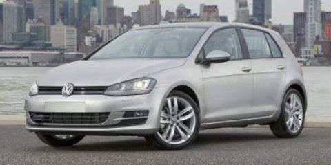 2015 Volkswagen Golf TSI S Blue Silk MetallicBeige V4 18 L Automatic 10 miles  Turbocharged