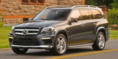 2015 Mercedes GL-Class GL550 4MATIC Iridium Silver MetallicBlack Leather V8 47 L Automatic 7 mi