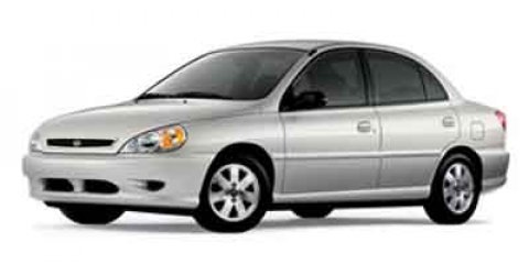 2002 Kia Rio Light Silver V4 15L  72675 miles Hundreds of Pre-Owned Vehicles to choose from h