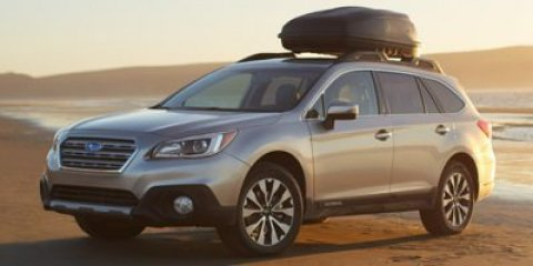 2015 Subaru Outback 25i Limited Crystal Black SilicaDARK GRAY V4 25 L Variable 0 miles  All W