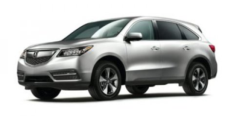 2015 Acura MDX STERLING GRAYEbony V6 35 L Automatic 14 miles  All Wheel Drive  Active Suspens