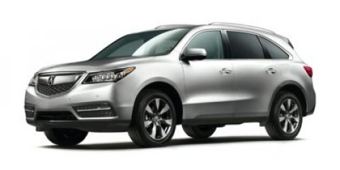 2015 Acura MDX AdvanceEntertainment Pkg Forest Mist MetallicGREEN V6 35 L Automatic 14 miles