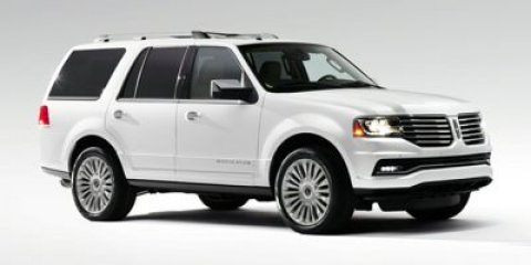 2015 Lincoln Navigator White Platinum Metallic Tri-CoatStone V6 35 L Automatic 10 miles  Turbo