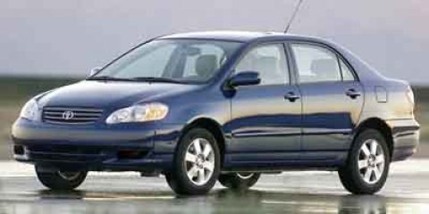 2003 Toyota Corolla LE Lunar Mist Metallic V4 18L Automatic 88970 miles NEW ARRIVAL This Luna