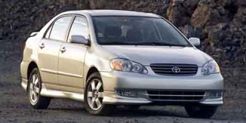 2003 Toyota Corolla CE  V4 18L Automatic 0 miles  Front Wheel Drive  Tires - Front All-Season