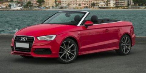 2015 Audi A3 20T Premium Brilliant BlackBlack RoofBLACK V4 20 L Automatic 0 miles  Turbochar